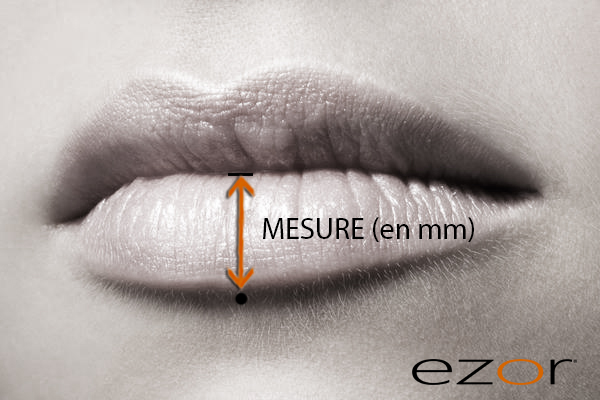 size-measurement-labret-piercing-lip
